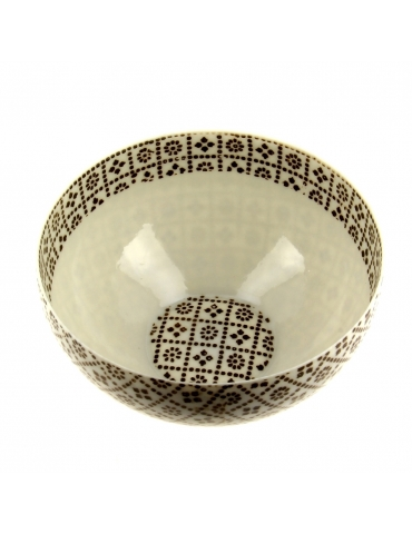 TAMAGO CUP - GEOMETRICAL BROWN