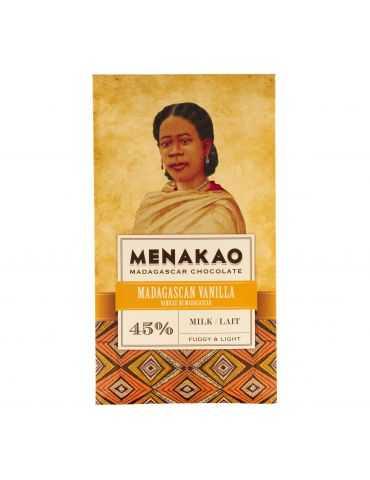 Chocolat au lait 44% - Vanille de Madagascar