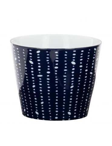 """Tasse Soba """"Bleu de Nîmes"""" Perles"""