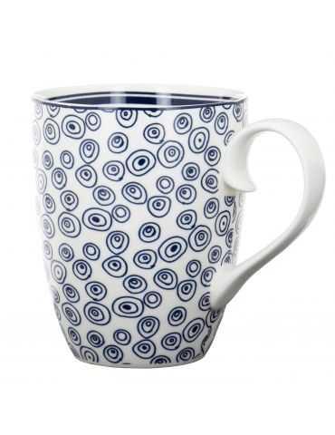 """Mug """"Bleu de Nîmes"""" Bulles"""
