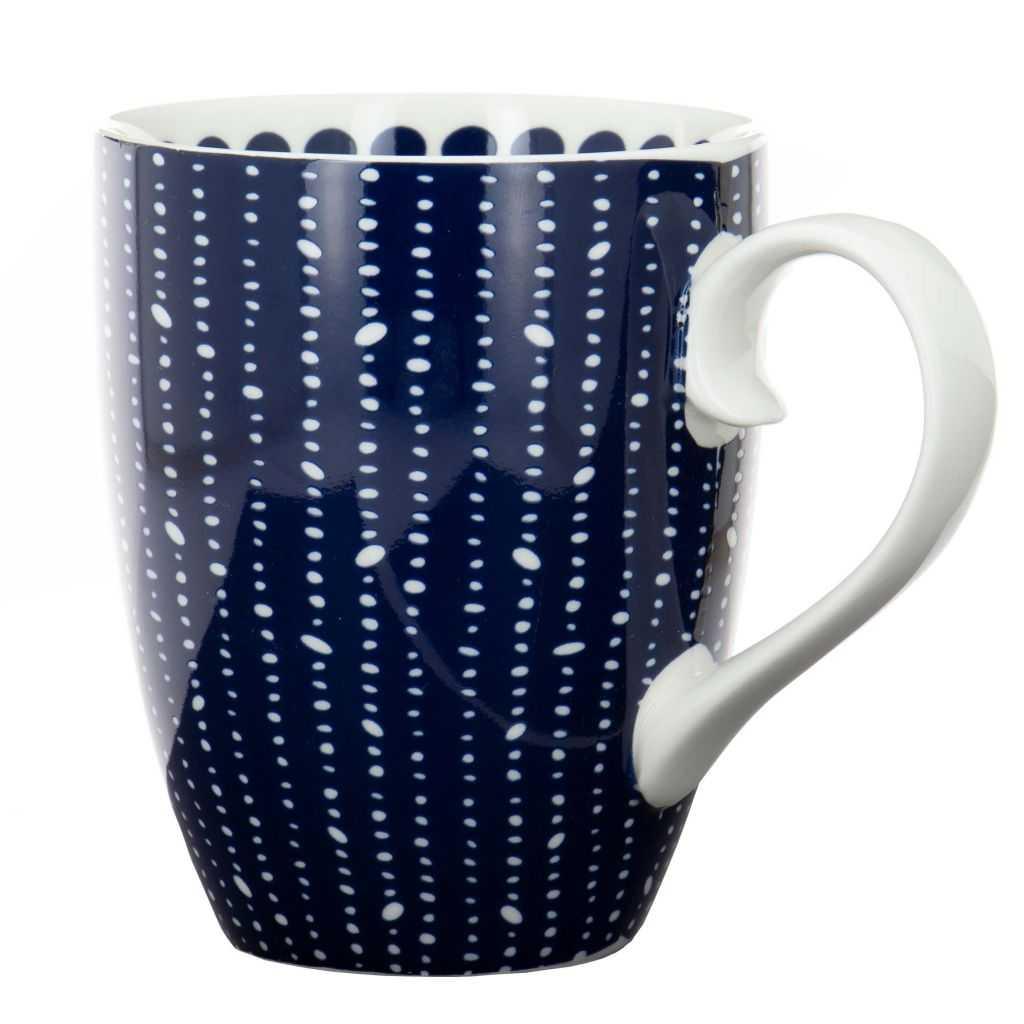 """Mug """"Bleu de Nîmes"""" Perles"""