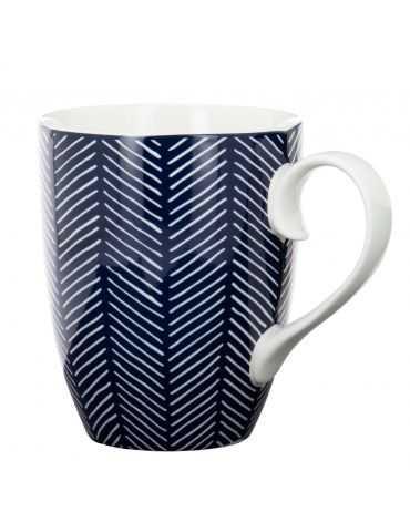"""Mug """"Bleu de Nîmes"""" Herringbone Bleu"""