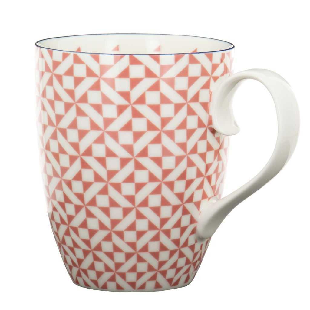 Mug Kaléidoscope Rouge