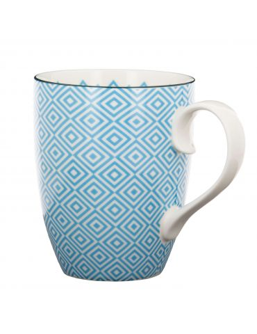 Mug Losanges Bleu Ciel