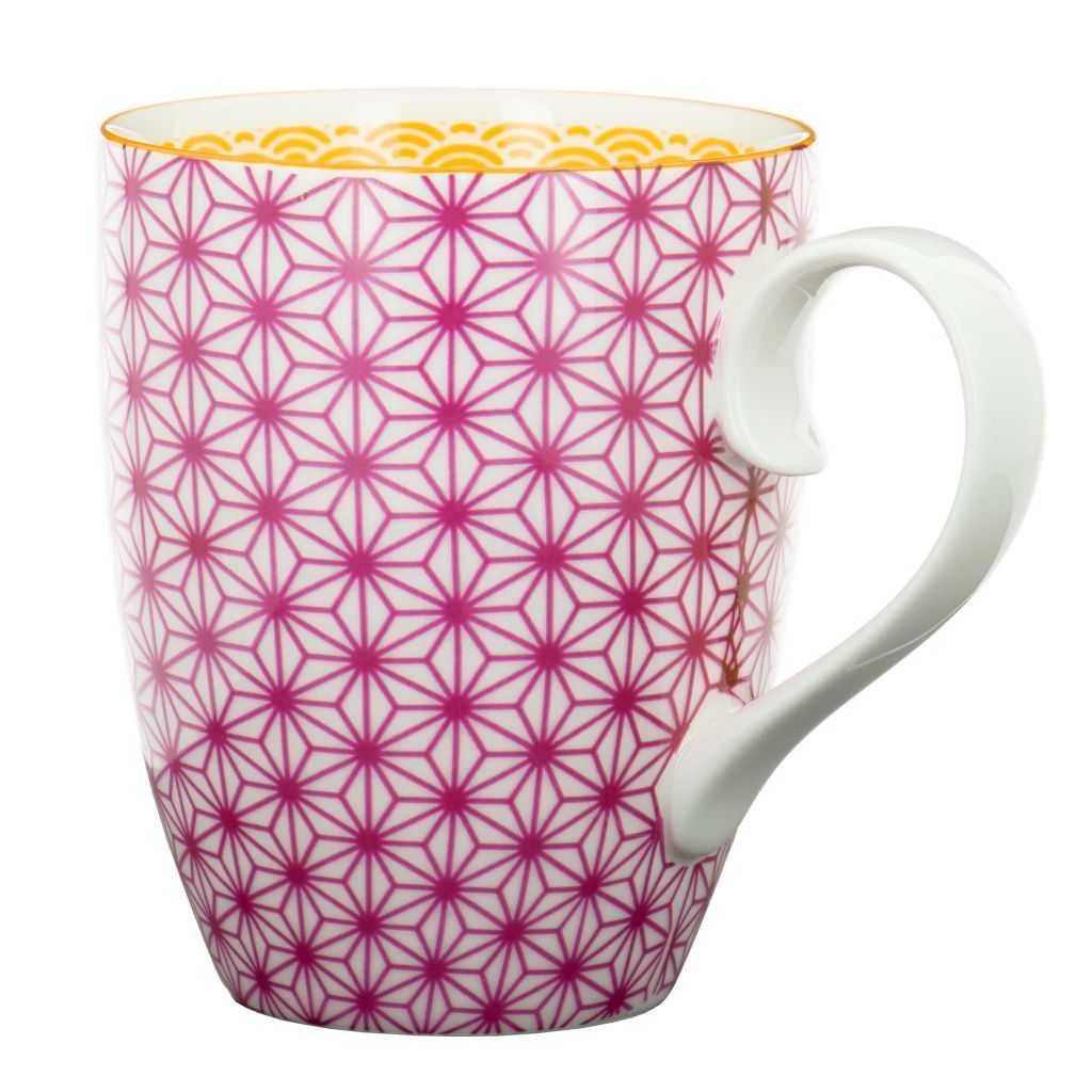 Mug Étoiles Aubergine