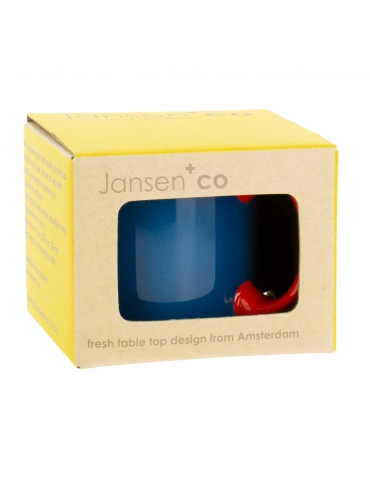 Mug bleu Jansen+co