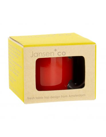 Mug rouge Jansen+co