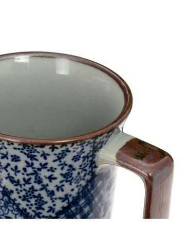 Mug en grès - Patchwork