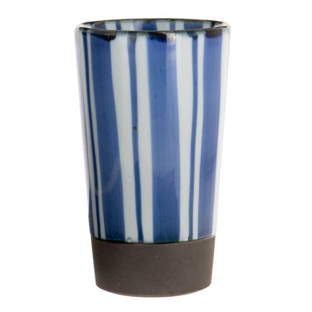 Tasse Haute Bande Bleu