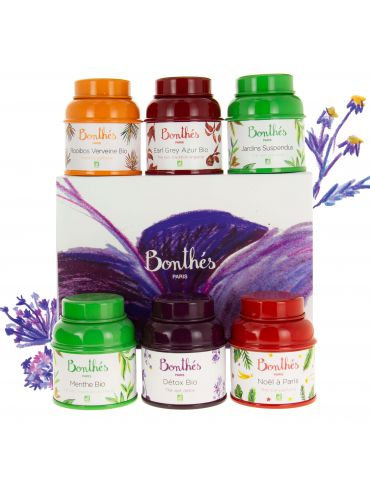 Coffret 6 boites baby - Parfums Enchantés