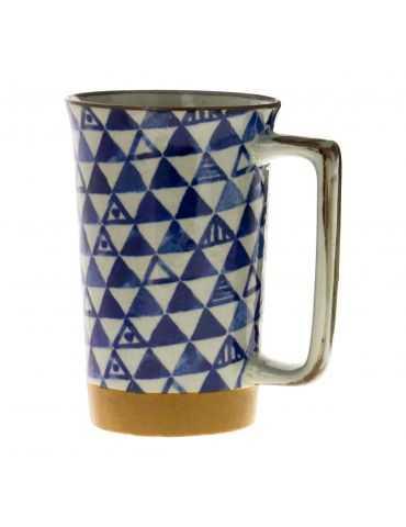 Mug en grès - Triangles