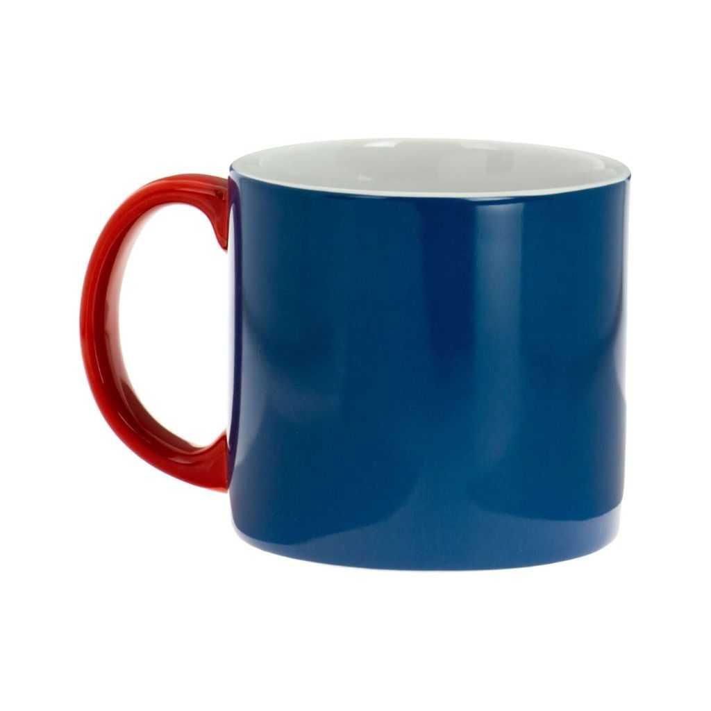 Mug XL bleu Jansen+co