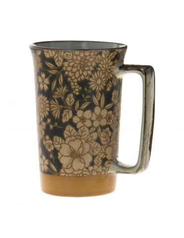 Mug en grès - Bouquet Champêtre