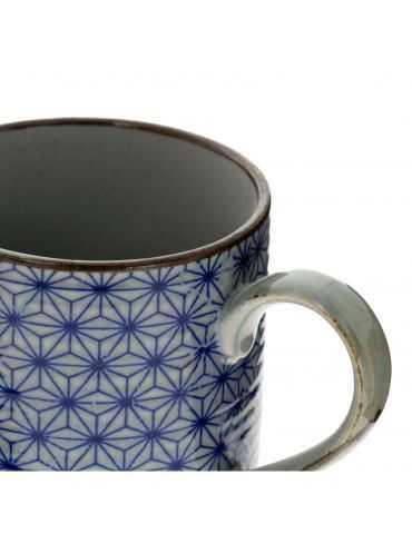 Petit mug en grès - Étoiles