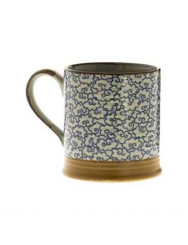 Petit mug en grès - Nuages